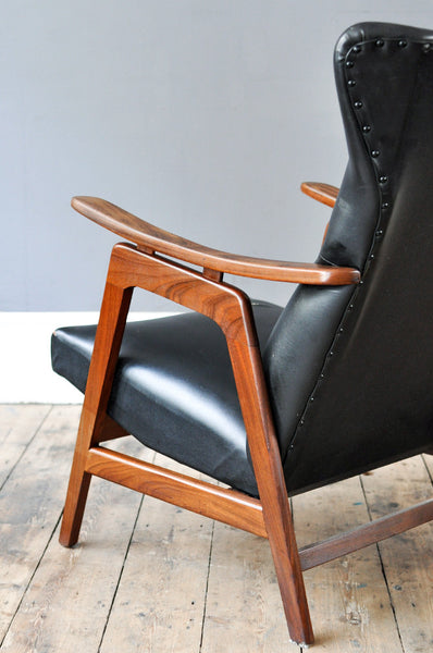 Dutch High Back Armchair - Forest London