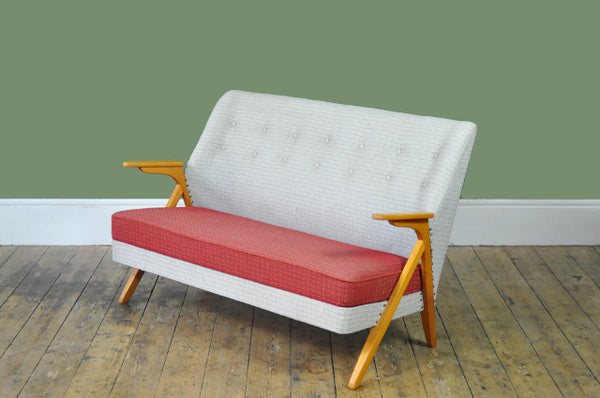 Delightful Danish Two-seater Sofa