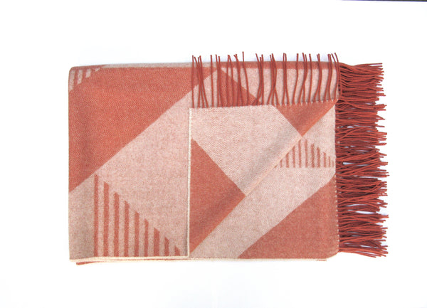 Tamasyn Gambell Pythagorean Blanket in Blush