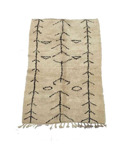 Beni Ouarain Rug - Forest London