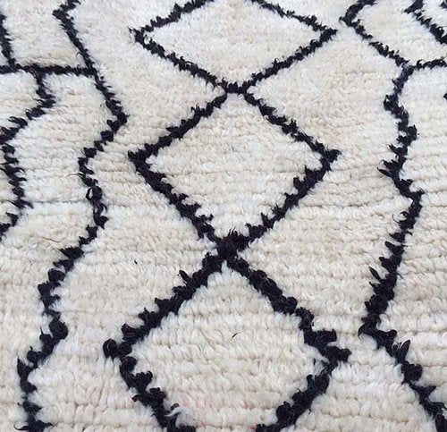 Small Vintage Azilal Rug - Forest London