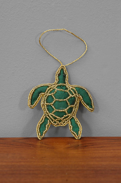 Handmade Turtle Ornament