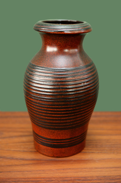 Tall West German Vase - Forest London