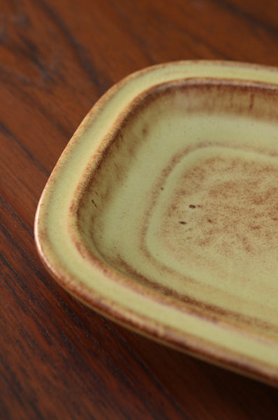 Yellow Ceramic Dish