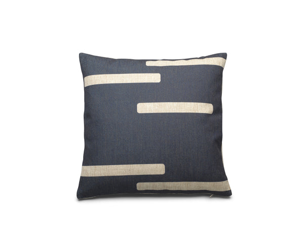 FEST Amsterdam James Square Cushion, Navy