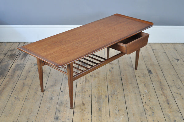 Minimal Teak Coffee Table