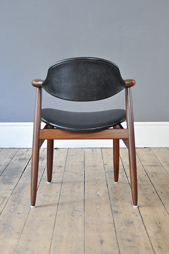 Cow Horn Chair By Tijsseling Forest London
