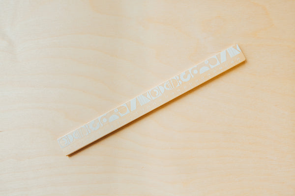 ON SALE // Ding Ding White Ruler - Forest London