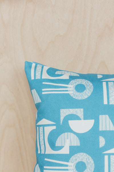 Ding Ding 'Building' Cushion - Oblong