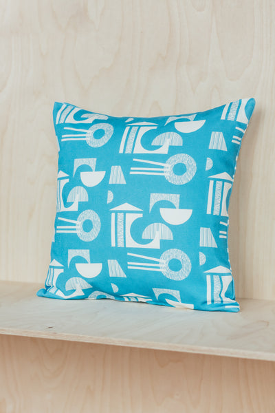 ON SALE // Ding Ding Building Cushion - Square - Forest London