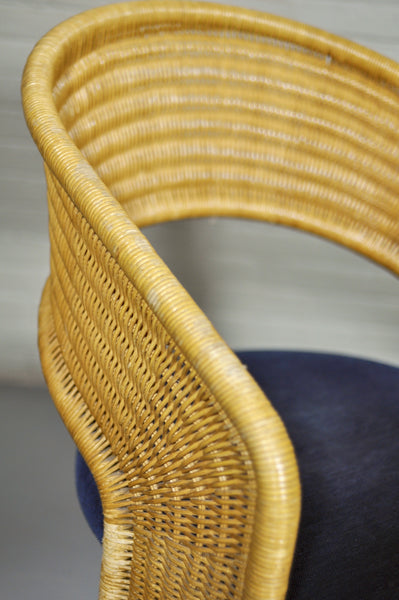 Braided Wicker Chair