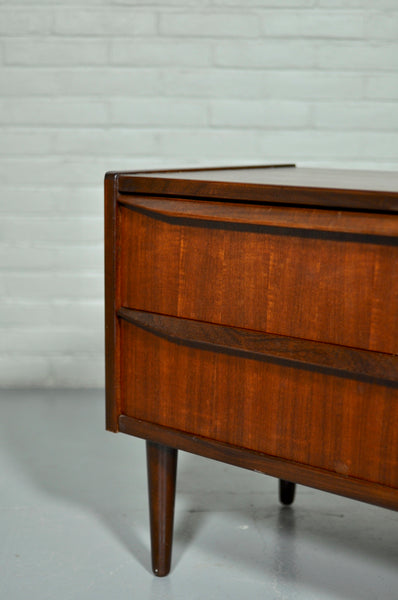 Low Danish Chest of Drawers