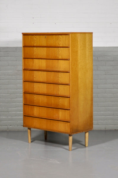 Large Oak Chest of Drawers