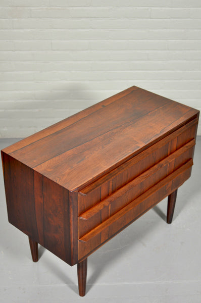 Low Rosewood Chest of Drawers