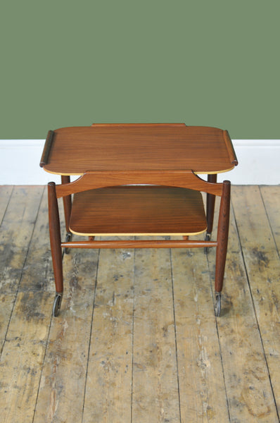 Dutch Teak Trolley - Forest London