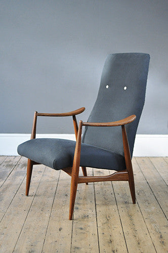 Sophisticated High Back Armchair - Forest London