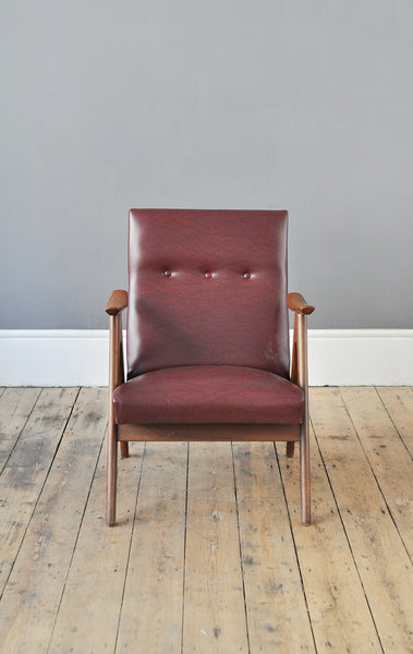 Dutch Low Back Armchair