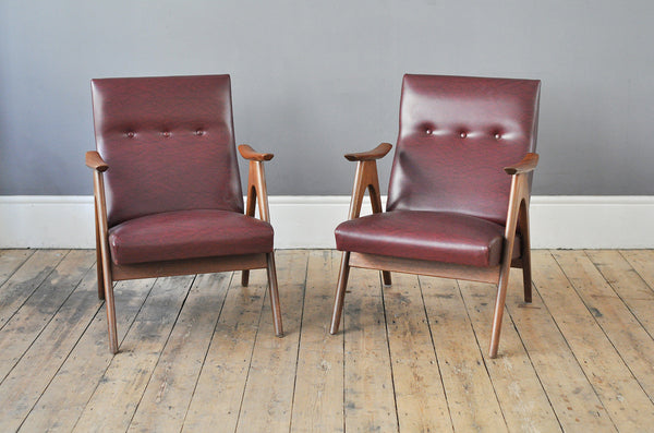 Dutch Low Back Armchair - Forest London
