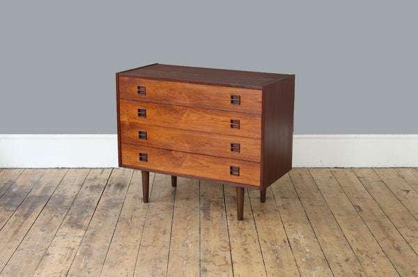 1960s Danish Rosewood Chest Of Drawers - Forest London