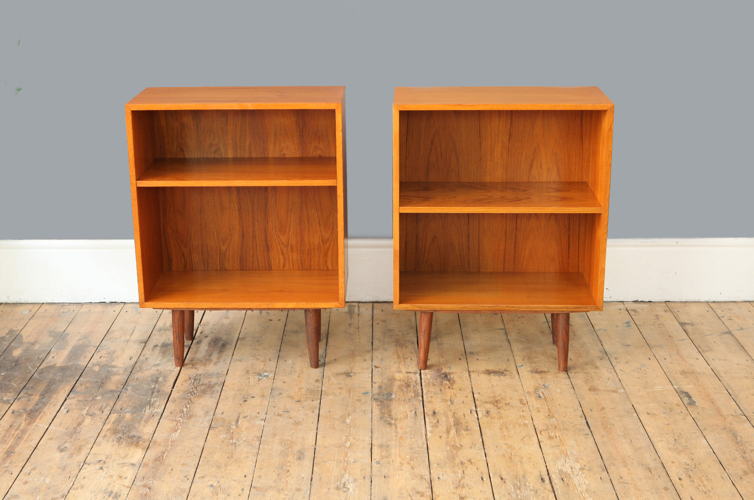 Small Teak Bookcase Forest London