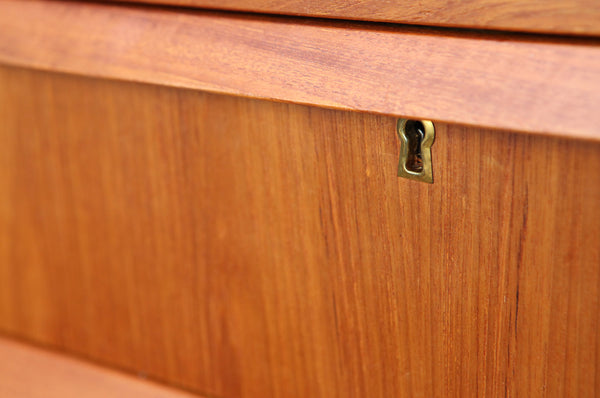 Danish Teak Chest of Drawers - Forest London