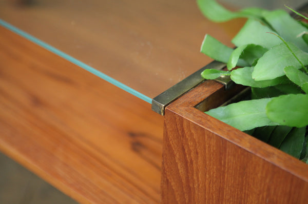 Coffee Table with Planter by Silkeborg