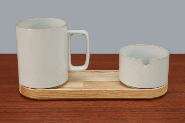 ON SALE // Hasami Porcelain Sugar Pot - Forest London