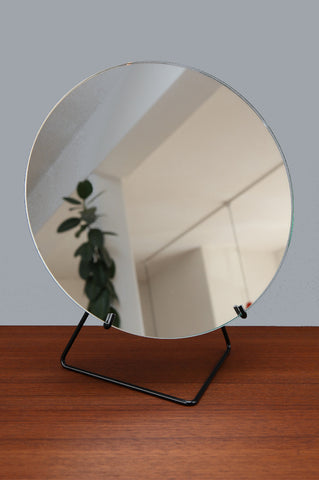 Contemporary Large Black Mirror by Moebe