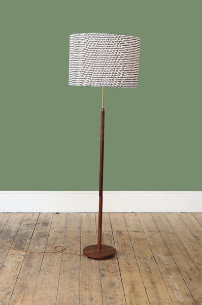 Danish Rosewood Floor Lamp - Forest London