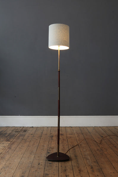 Classic Teak Floor Lamp - Forest London
