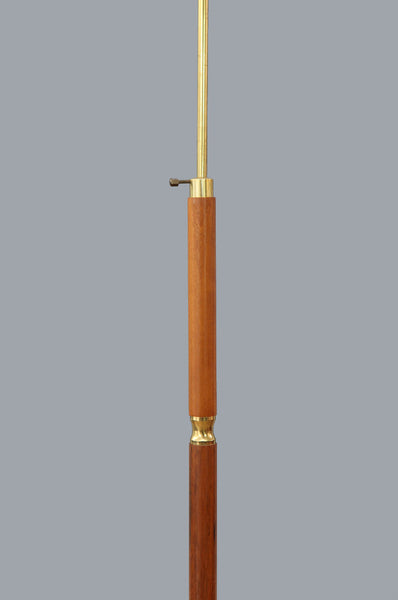 Stylish Teak Floor Lamp - Forest London