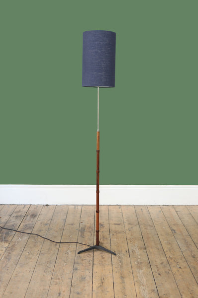 Danish Rosewood Floor Lamp