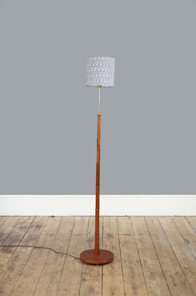 Danish Teak Floor Lamp