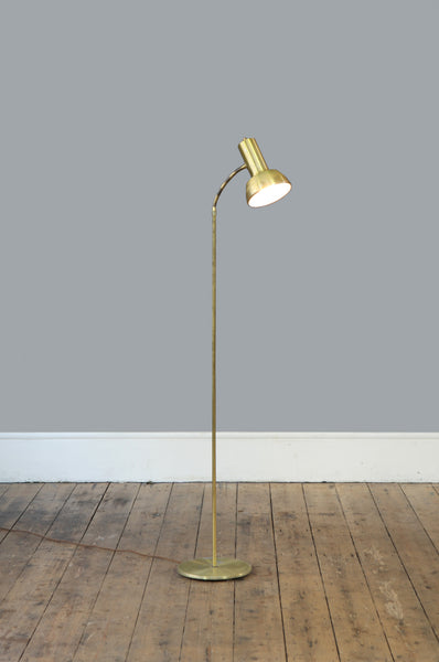 Mid Century Brass Floor Lamp