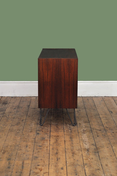Rosewood Sideboard With Hairpin Legs