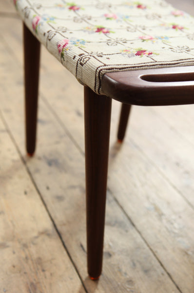 Teak Danish Footstool