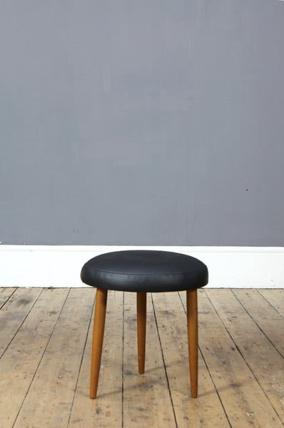 Round Modernist Footstool