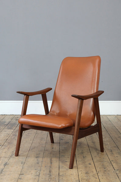 1960s Dutch Armchair - Forest London