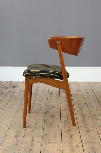 Curved Occasional Chair by Helge Sibast