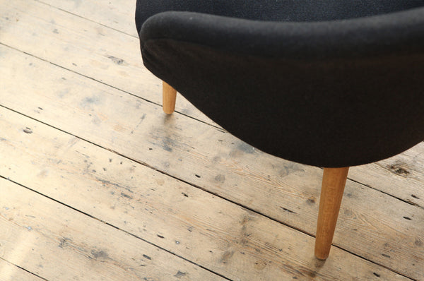 Curved Occasional Chair