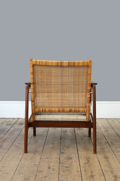 P.J. Muntendam Rattan Back Chair