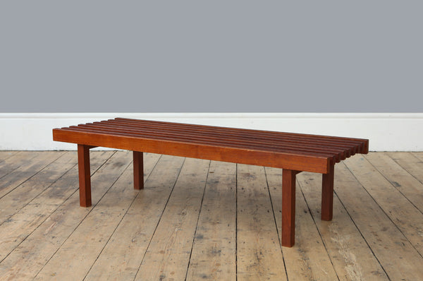 Simple Teak Coffee Table