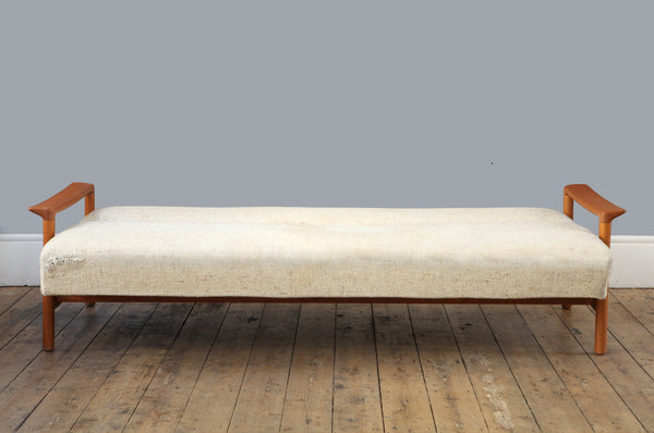 Dutch 1960's Four Seater Sofa Bed