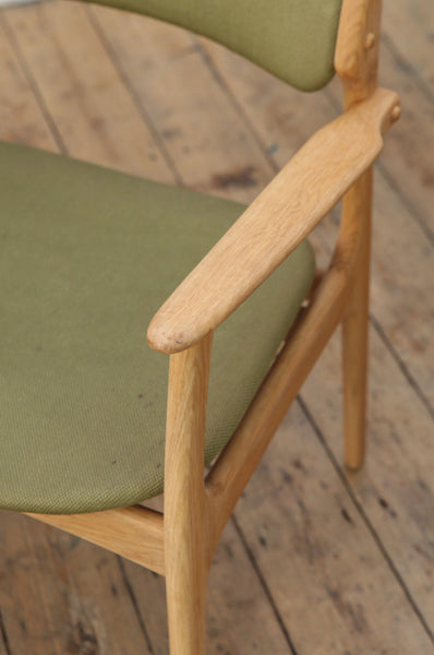 'Model 50' Oak Occasional Chair by Erik Buch