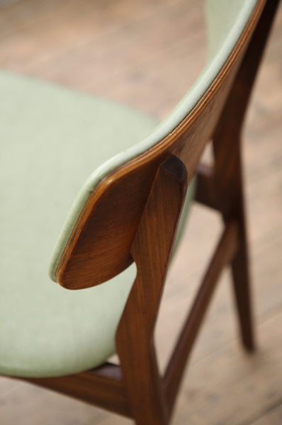 Set of Six Teak Dining Chairs