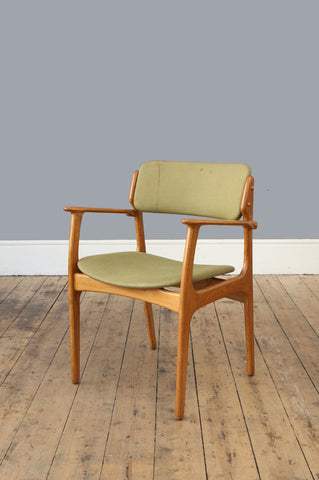 'Model 50' Oak Chair by Erik Buch