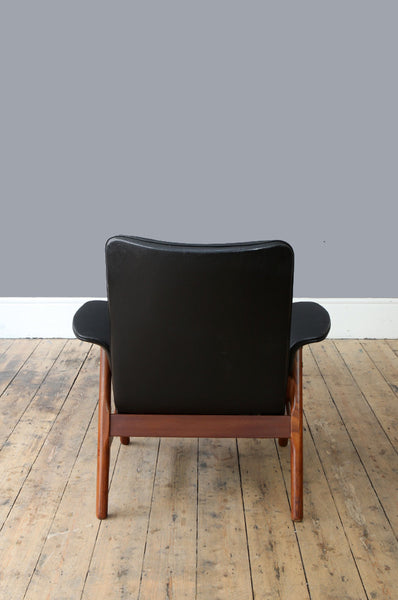 Rare Louis van Teeffelen Armchair - Forest London