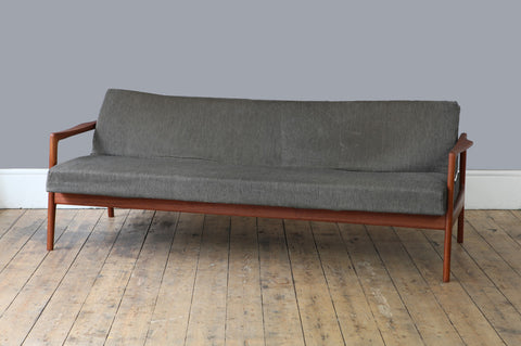 1960s Danish Sofa Bed