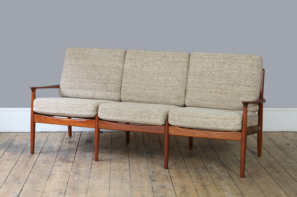 Three Seater Sofa by Grete Jalk