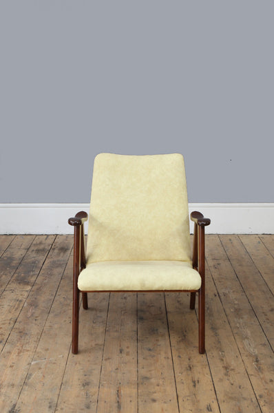 Curved Armchair by Louis van Teeffelen - Forest London